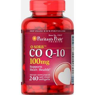 Puritan's Pride Vitamin Suplemen Jantung Q-SORB™ Co Q-10
