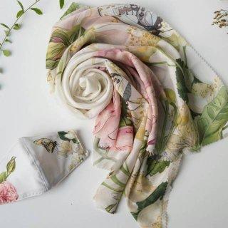 Seruni Living Paket Hijab dan Masker Seri Alyssa