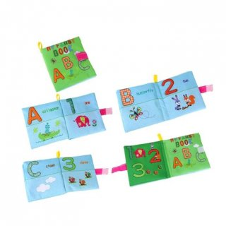 Baby Soft Book Mainan Edukasi Bayi - Numbers