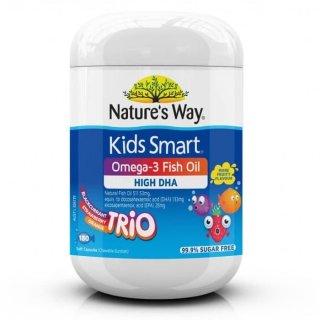 Natures Way Kids Smart Omega-3 Fish Oil Trio