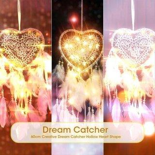 Ornamen Dream Catcher Hati Hollow