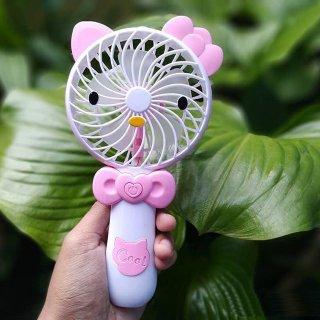 Kipas Genggam Kipas Angin Portable Hello Kitty