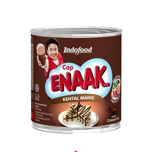 Susu Kental Manis Cap Enaak Cokelat