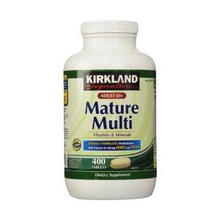 Kirkland Signature Adults 50+ Mature Multi & Minerals Multi Vitamin
