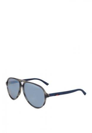 Gucci - Geo Frame Sunglasses (zt)