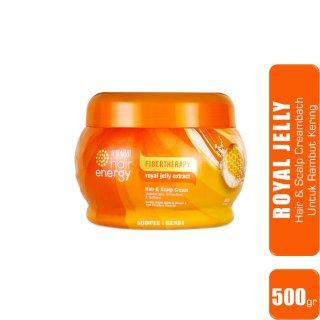 Makarizo hair energy - Fibertherapy Hair & Sclap Creambath ROYAL JELLY Extract