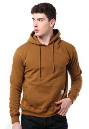 Tendencies Sweater HOODIE PULLOVER BROWN