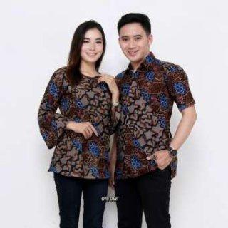 Baju Batik Couple Blouse Sarimbit Seragam