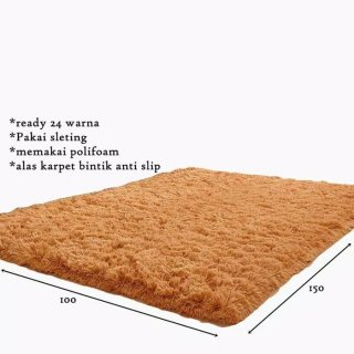 Karpet Bulu Rasfur Busa Polyfoam