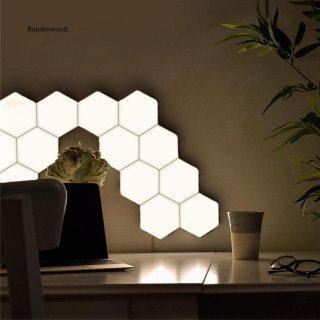 Quantum LED Lamp Modular Hexagon Touch