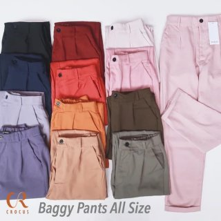 CS- BAGGY Pants All Size Celana Kerja Chinos
