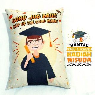 Bantal Kado & Hadiah Wisuda Tema Good Job