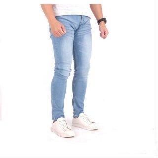 Brotherholicstore Celana Panjang Jeans Pria Navy Washed