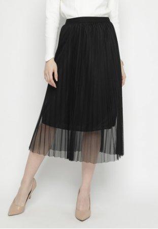 Mineola Tulle Pleated Skirt