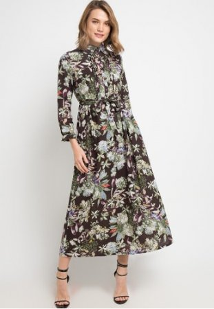 novel.mice-Ethnic Tunic Dress