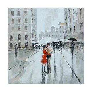 Kana Furniture 1180 PN Couple Under Umbrella WD8 Lukisan
