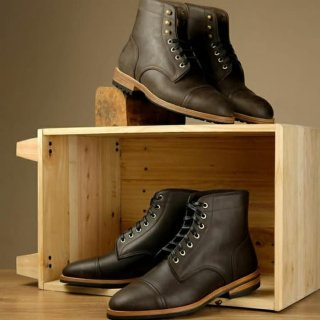 TXTURE MTO Pacific Boots Aged Brown