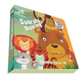 Opredo Board Book Binatang Bersuara : Suaraku Nyaring