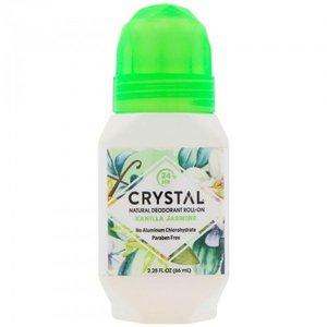 Crystal Natural Deodorant Roll-On Vanilla Jasmine