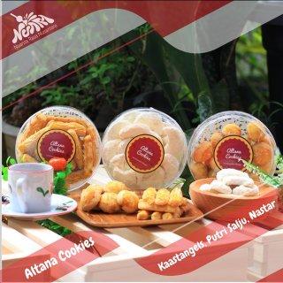 Altana Cookies - Kaastengels Putri Salju Nastar Homemade 250gr Bandung Cimahi