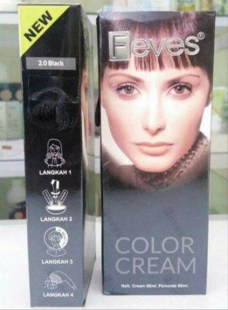 Feves Hair Color Cream - 6.3 Chesnut Brown