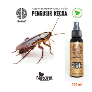 Pengusir Kecoa Ampuh Natural Spray, Bye Bye Kecoa