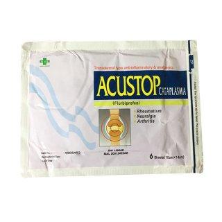 Acustop Cataplasma Plaster