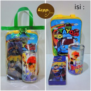Paket Souvenir Tas Tenteng Jinjing Celengan Hadiah Ulang Tahun