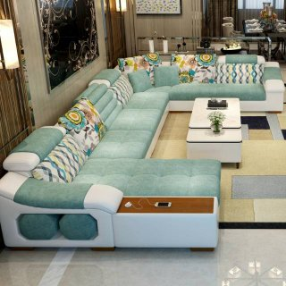 Sofa Ruang Tamu Minimalis Modern Standar by Ayra Sofa House