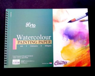 Arto Watercolour Painting Paper Ring A4 300gsm