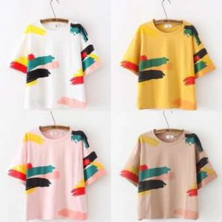 Celine Fashion - Paint Shirt ® / Atasan Wanita / Kaos Wanita