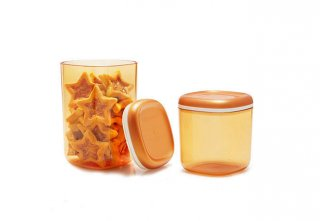 Tupperware Crystal Canister
