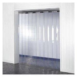 Tirai Plastik PVC Curtain Blue