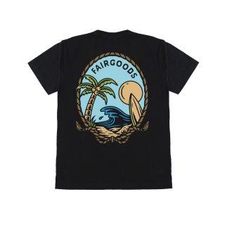 Fairgoods Kaos - Time To Surf - Hitam