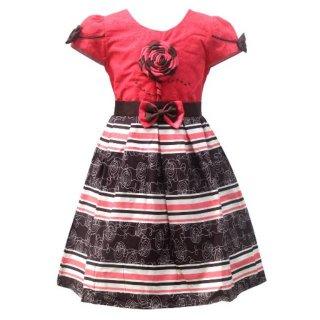 Two Mix Baju Dress Anak Perempuan