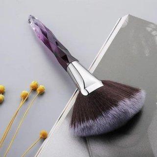 Makeup Brush Kristal Fan Brush