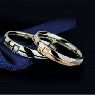 Cincin Couple Titanium 090