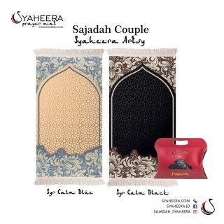 SYAHEEERA COUPLE Artsy Calm Blue & Calm Black