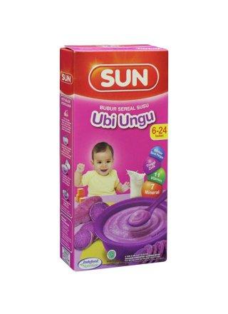 Sun Bubur Sereal Susu Ubi Ungu