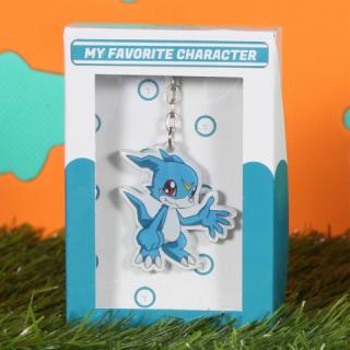 Gantungan Kunci Multifungsi Digimon Karakter Veemon B