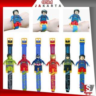 OSM - J437 Jam Tangan Anak Lego