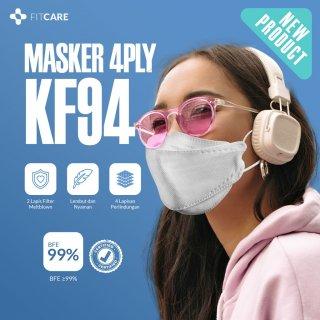 Masker KF94 4 ply Earloop Fitcare