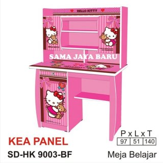 SDHK 9003 BF Kea Panel Meja Belajar Hello Kitty