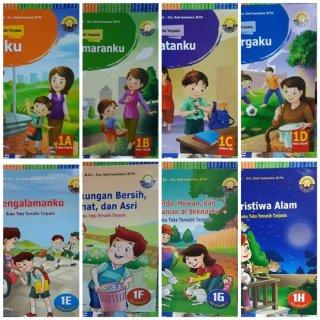 Buku Paket Tematik Terpadu Kelas 1 SD Yudhistira