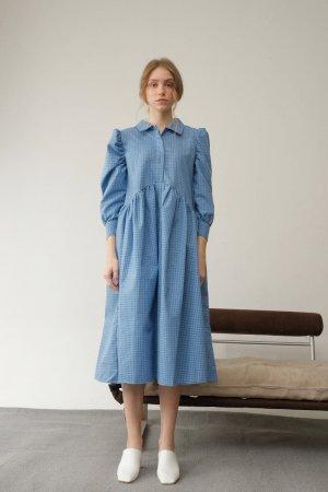 Miroir Onnie Plaid Blue