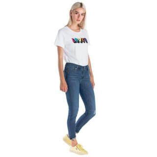LEVI'S 711 SKINNY ANKLE KEEPING TABS