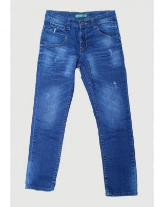 Osella Celana Anak Laki Laki Jeans Polos Blue