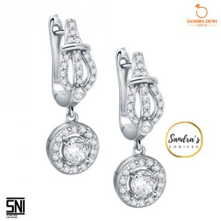 Anting Emas Princess Throne Sandra Dewi Gold 3ASZ398