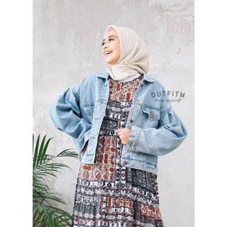 Outfitm Zayn Jacket Jeans - Jaket Wanita