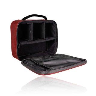 Armando Caruso Small Beauty Case Red - 6513